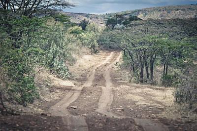 African Road Art Print by Mesha Zelkovich