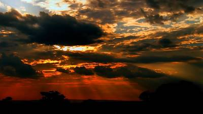 Photograph - African Skies by David Rich