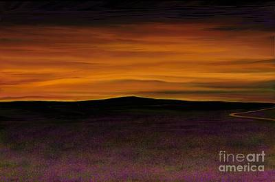 Art Print featuring the painting African Sky by Rand Herron
