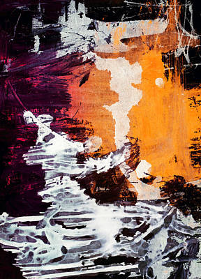 Abstract Art Painting - African Sunset by Modern Art Prints