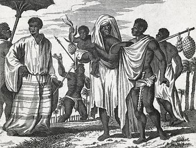 African Zenega People, 17th Century Art Print