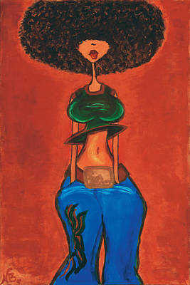 Painting - Afrocentric by Natasha Ragler