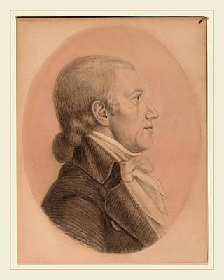 After Charles-balthazar-julien-févret De Saint-mémin Art Print