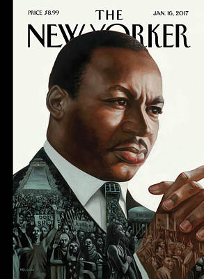 Mlk Painting - After Dr. King by Kadir Nelson