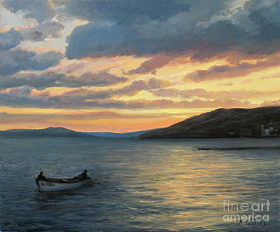 After Fishing Art Print by Kiril Stanchev