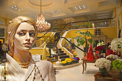Photograph - After-hours Shopping by Chuck Staley