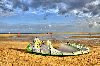 Art Print featuring the photograph After Kiteboarding Session by Julis Simo