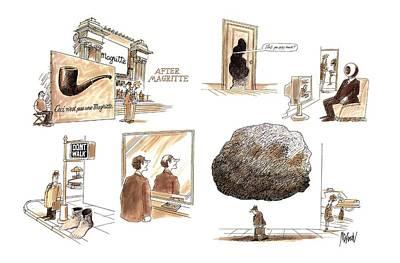 After Magritte Art Print