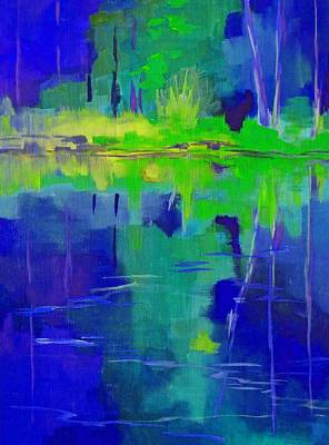Painting - After Midnight by Nancy Merkle