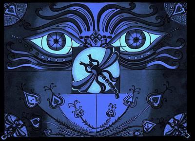 Dragon Fly Digital Art - After Midnight by Teri Schuster