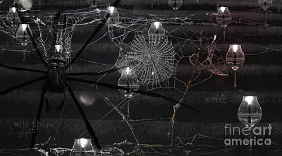 Web Of Life Digital Art - After by Nola Lee Kelsey