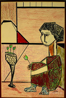 Art Print featuring the pastel after Picasso by Bill OConnor