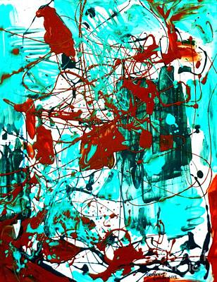Painting - After Pollock by Genevieve Esson