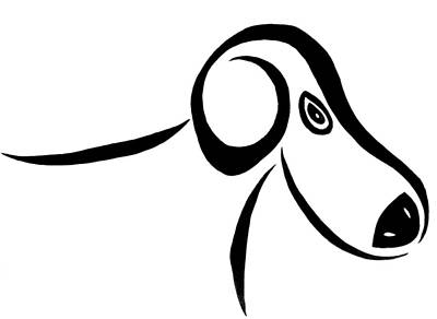 Dachshund Art Drawing - After Stewie by Beth Akerman