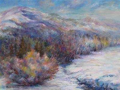 Painting - After The First Thaw by Bonnie Goedecke