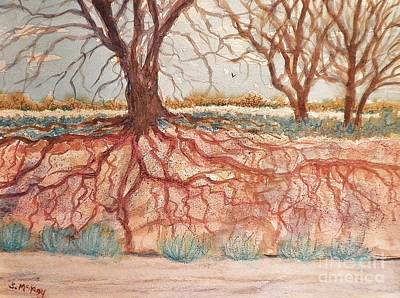 Painting - After The Flash Flood by Suzanne McKay