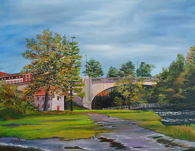 Ramp Painting - After The Flood by Diane Hutchinson