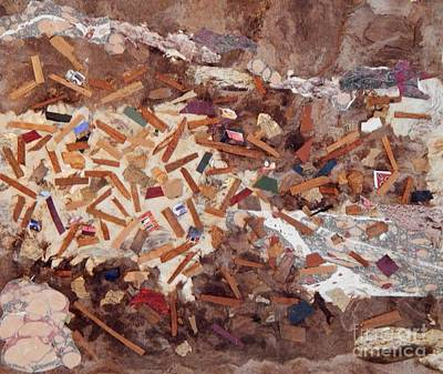 Mixed Media - After The Flood by Patricia  Tierney