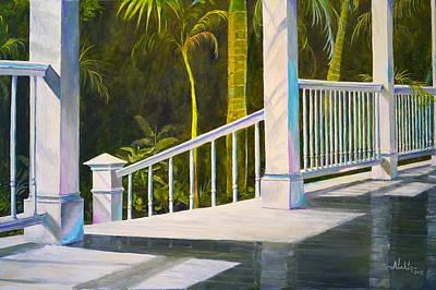 Sanibel Island Painting - After The Rain by Alan Lakin