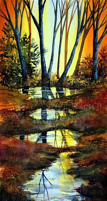 After The Rain Art Print by Ann Marie Bone