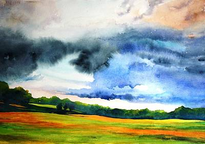 Painting - After The Rain by Brenda Beck Fisher
