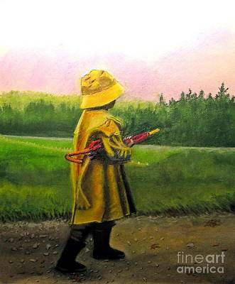 Pastel - After The Rain by Lamarr Kramer