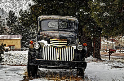 After The Snow Falls Art Print by Ken Smith