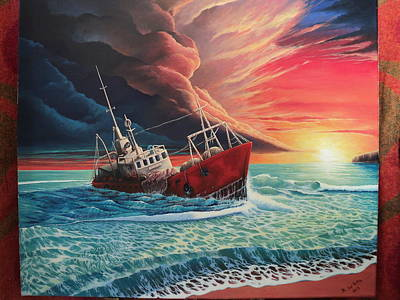 After The Storm Art Print by Alejandro Del Valle