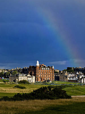 Photograph - After The Storm At St. Andrews Golf Old Course Scotland by Sally Ross