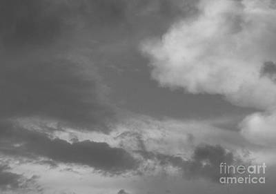 Photograph - After The Storm Bw by Barbara Bardzik