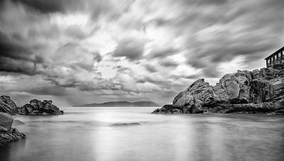 After The Storm In Morays Cove Print by Tommaso Di Donato