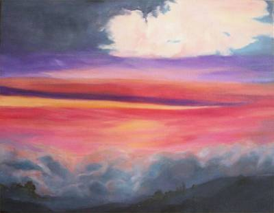 Painting - After The Storm by Irene Corey