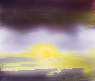 Painting - After The Storm 2003 by Karl Leonhardtsberger