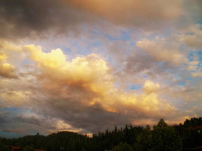 After The Storm -  Lake Arrowhead Print by Glenn McCarthy Art and Photography