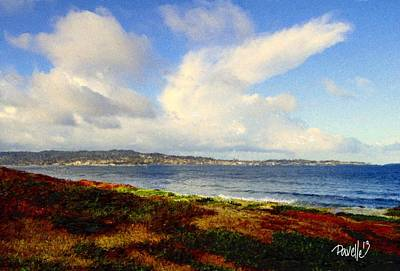 Digital Art - After The Storm - Monterey Bay by Jim Pavelle