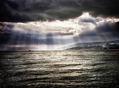 Photograph - After The Storm Sea Of Galilee Israel by Mark Fuller