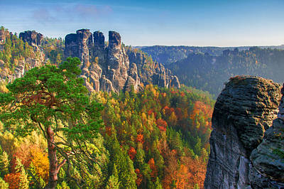 Photograph - After The Sunrise On The Bastei by Sun Travels