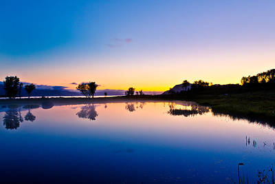 August 2012 Photograph - After The Sunset by Frank Olsen