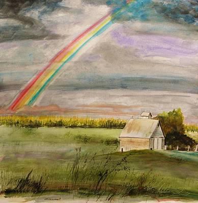 After Warm Rain Art Print by John Williams