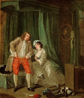 Hogarth Painting - After William Hogarth, English by Litz Collection