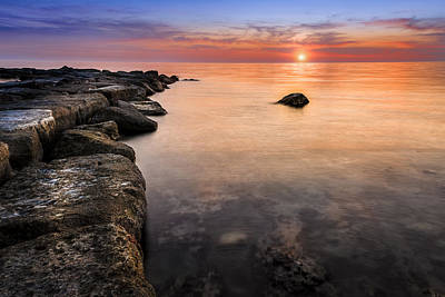 Photograph - Sunset Cyprus by Alex Saunders