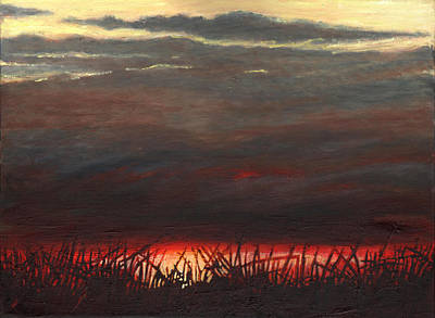 Painting - Afterglow by Helen White