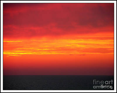 Photograph - Afterglow by Mariarosa Rockefeller