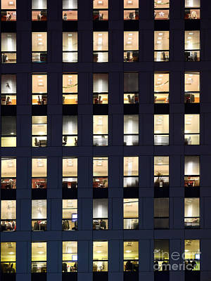 Overtime Photograph - Afterhours by Roman Milert