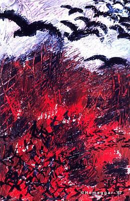 Painting - Aftermath by Hemu Aggarwal