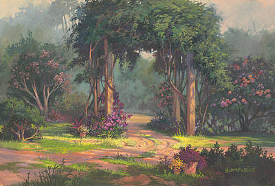 Afternoon Arbor Art Print by Michael Humphries
