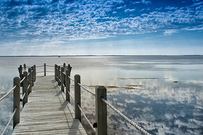 Photograph - Afternoon At Currituck Sound by Victor Culpepper