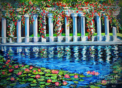 Painting - Afternoon At Parc Monceau by Rita Brown