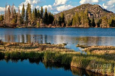 Photograph - Afternoon At Sprague Lake by Adam Jewell