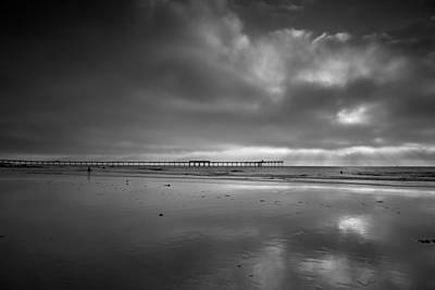 Landscape Photograph - Afternoon At The Pier by Peter Tellone
